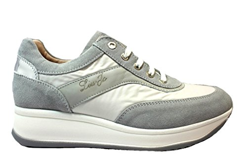 Liu Jo Girl B23040 Grigio Sneakers Scarpe Donna Calzature Comode Grigio