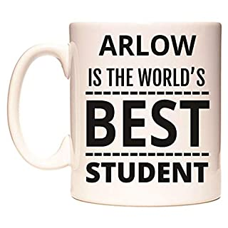 ARLOW is The World's Best Student Mug by WeDoMugs®
