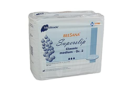 Meditrade Beesana Superslip Super Medium größe 2, 1er Pack (1 x 15 Stück)