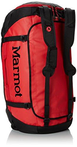 Marmot Unisex Long Hauler Duffle Bag S Reisetasche Team Red/Black