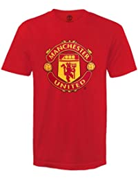 ff0a9dce5 Manchester United FC Official Football Gift Mens Crest T-Shirt