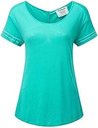 Craghoppers Thea Camiseta de Manga Corta para Mujer, Mujer, Color Spearmint, tamaño Talla