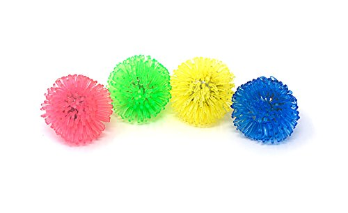 Packungen mit 12 Flashing Led Multi Colored Porcupine Jelly Style Ringe für Parteien Party Favor Kostüme Raves Geschenk Taschen Leuchten Finger Farn Spielzeug glühenden Erwachsenen Kind Spaß