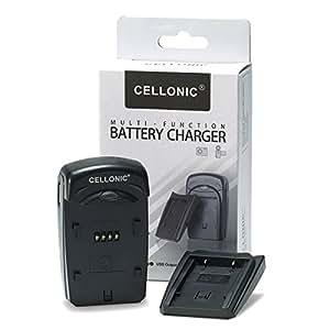 CELLONIC® Chargeur CB-2LUE pour NB-3L,NB-13LH (Digital Digital IXUS 750, IXUS 700, Digital IXUS i, PowerShot SD550, SD500, SD10, IXY Digital L2) - incl. Alimentation + câble chargeur voiture - chargeur batterie appareil photo, adaptateur secteur, station de charge accu, chargeur auto