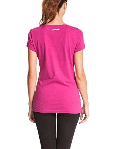 Desigual nicamo b t-shirt pour femme Violet - Violet