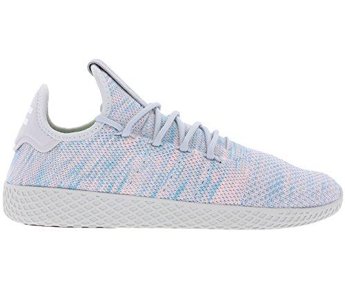 adidas Originals Pharell Williams Tennis hu Schuhe Sneaker Turnschuhe Grau Blautöne