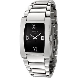 T007.309.11.053.00 Tissot T tendencia generosi acero pulsera negro dial