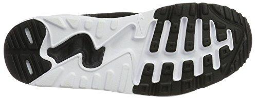 Nike Air Max 90 Ultra 2.0 (Gs), Scarpe da Ginnastica Basse Unisex – Bambini Bianco (White/black-white)