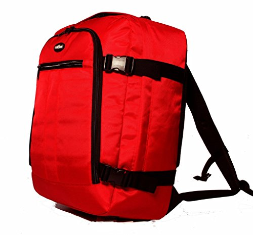 Preisvergleich Produktbild Hohe Qualität 43, 2 cm oder 48, 3 cm Laptop Kabine Zugelassen Rucksack Kabine Flight Tasche Reisetasche Rucksack Ryanair Handgepäck 2002 Red