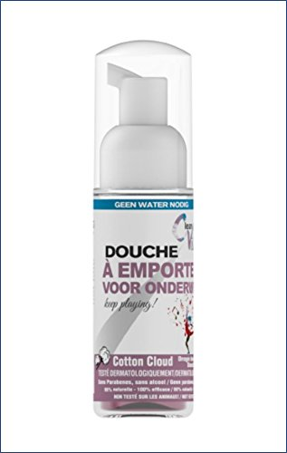Spray Douche sèche Clean Vibes Coton 50ml - Voyage - Bagage cabine Clean Vibes