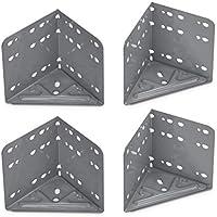 4stk 48mmx48mmx2mm 6 Grad Winkel Eisen Tischbein Montageplatten Montage Platte