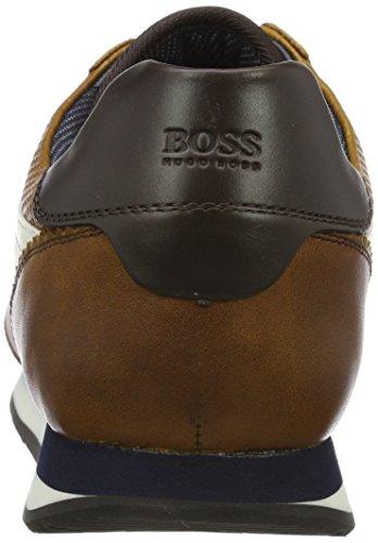 Boss Orange Adrenal_runn_pp1 10201494 01, Scarpe da Ginnastica Basse Uomo Marrone (Medium Brown)