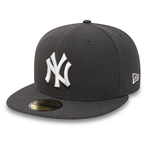 New Era 59Fifty Cap mit UD Bandana New York Yankees Graphite/White #2839-8 - (Bandana Mit Hut)