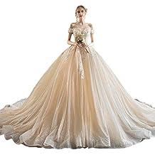 Vestido de novia de un Solo Hombro Europa y los Estados Unidos era una Novia Delgada