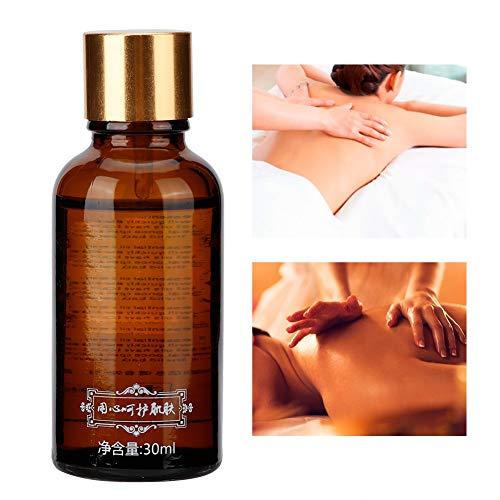 Entspannung-aromatherapie-körper-Öl (30 ml natürliches Rosenextrakt ätherisches Öl Körpermassage Hautpflege Feuchtigkeitsspendendes ätherisches Öl für Aromatherapie, Entspannung, Hauttherapie)