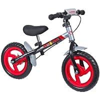Hudora - 10071 - Vélo et Véhicule pour Enfant - Vélo Draisienne Roues Ratzfratz 4.0 avec Pneus Eva 12 - Noir/Rouge/Acier