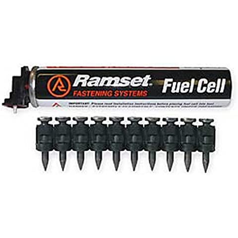 Ramset Powder Fastening Systems FPP034B 3/4-Inch Black Pins with Single Fuel Cell by Ramset Powder Fastening