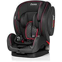 Innovaciones MS Encore 871 silla auto, grupo 1/2/3 (9-36 kg) color negro/ rojo