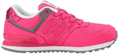 Nuovo Kl574 Fille Rosa Bassi Equilibrio Begonia Grigio Sneakers B6OSzB