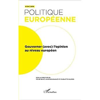 Gouverner (avec) l'opinion au niveau européen
