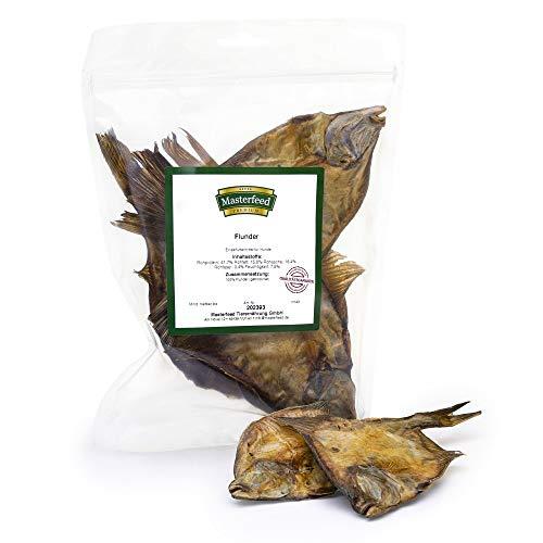 Masterfeed Flunder Fisch für Hunde - Getrocknet - 100% Natürlich Größe 1000 g