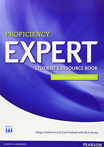 Expert Proficiency Student's Resource Book by Ms Megan Roderick (28-Feb-2013) Paperback