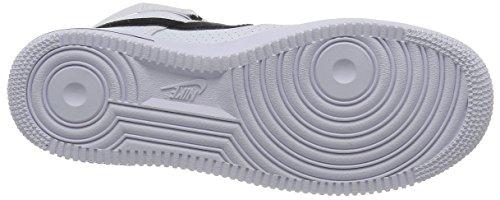 Nike Herren Air Force 1 High '07 Gymnastik Schwarz (White/Black/White)
