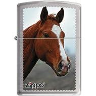 Zippo 50811164 Briquet Horse Head 3,5 x 1 x 5,5 cm
