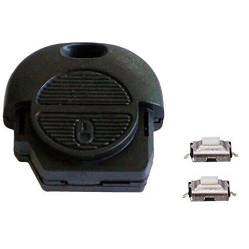 gazechimp 2 Button Shell Case Für Nats Remote Fit Almera Primera Micra X Trail