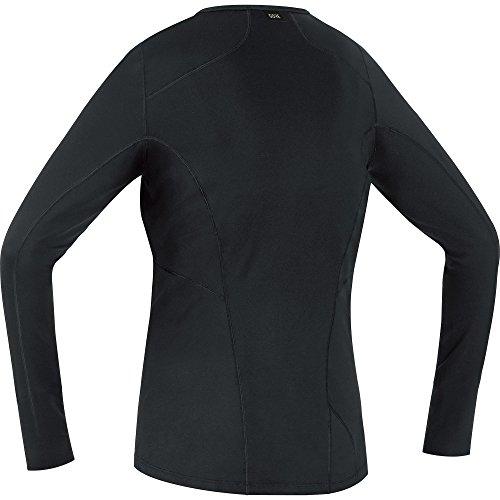 GORE Wear Atmungsaktives Damen Langarm Unterzieh-Shirt, GORE M Women Base Layer Long Sleeve Shirt, 100015 black