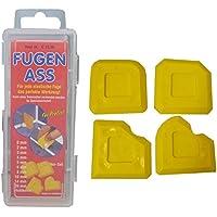 FUGEN ASS Standard - 4er-Set - für 16 verschiedene Fugenformen - Fugenabzieher - Fugenformer