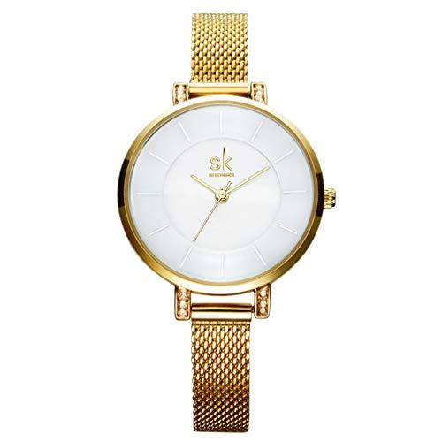 Ssq-cxo orologio al quarzo, orologio da polso da uomo in acciaio inossidabile con cinturino in pelle di qualità quadrante semplice movimento al quarzo con movimento semplice