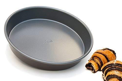 Culina 20303 Antihaft-Kuchenform rund Deep Dish-pizza, Quiche