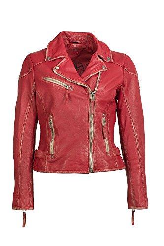 Gipsy Mauritius Damen Lederjacke Bikerjacke Jacket PERFECTO S17 LULV (2XL) (Leder Jacke Xxl)