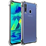 Amazon Brand - Solimo Mobile Cover (Soft & Flexible Back case) for Samsung Galaxy M40 (Transparent)