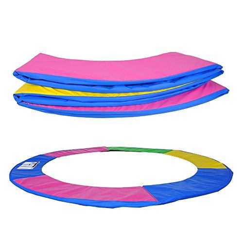 ULTRAPOWER SPORTS Federabdeckung Randschutz Randabdeckung für Trampolin 244cm - 6Stangen Rahmenpolsterung Bunt PVC - UV beständig