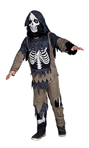 Boland 78049 - Kinderkostüm 7-9 Jahre Halloween Zombie (Zombie Skelett)
