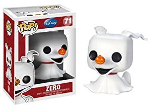 From Tim Burton's classic movie The Nightmare Before Christmas comes Zero! This Zero Pop! Vinyl Figure presents one of the most beloved characters in Disney's rich pantheon, poised to add some pop culture to your house in a unique stylized form you'v...