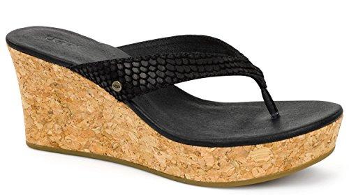 UGG - Sandalette NATASSIA MAR - 1007499 - black Black