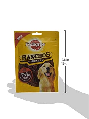 Pedigree Ranchos - Tender Dog Treats with Beef 70 g (pack of 7)