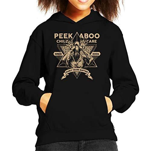 Peek A Boo Child Care Pans Labyrinth Kid's Hooded Sweatshirt (Kinder Hellboy Kostüm)