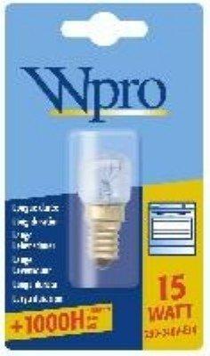 WPRO LFO 007 - Bombilla E14 para horno (T22, 15 W, 230...