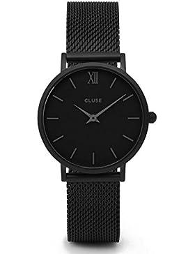 Watch Cluse Minuit Mesh Full Black CL30011