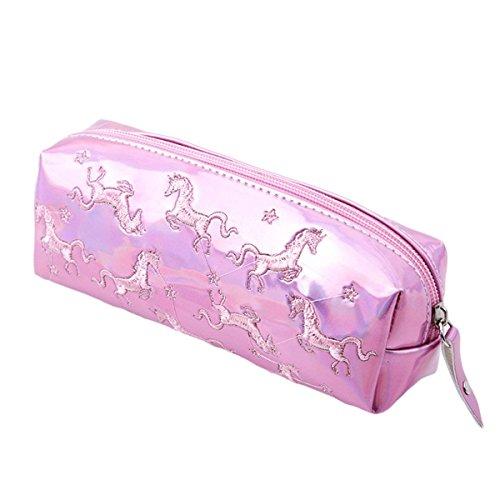 Shager unicornio neceseres baño maquillaje bolsa