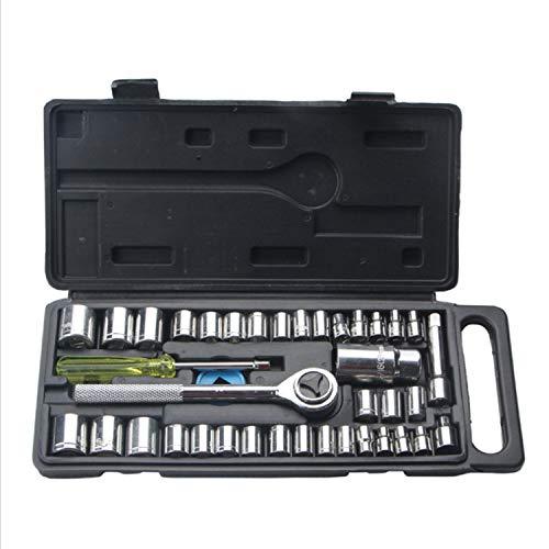 Preisvergleich Produktbild Praktisch 40 Stück Hülse Autowerkzeuge Home Hardware Auto Repair Tool Hülsenschlüssel Anzug
