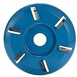 KKmoon 16 mm Talladora de Madera para Disco de Talla de Fresado para Amoladora Angular de Apertura