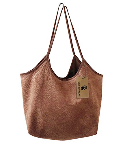 Damen Schultertasche coffee coffee Craze London lFC7VU