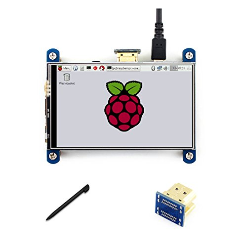 4 inch HDMI LCD Touch Control Screen Resistive 800 * 480 Resolution IPS Interface for for Raspberry pi3B+/3B/2 B/B+/A 4in Lcd