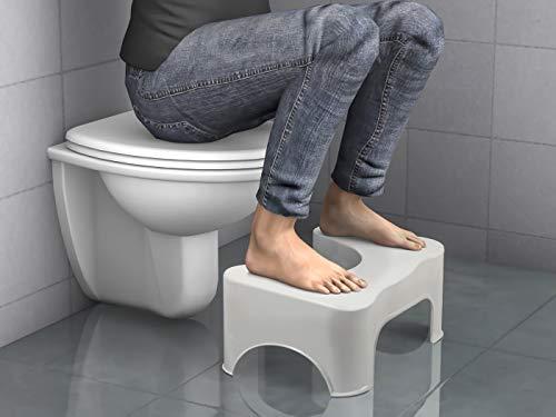 Krodo sgabello per wc da bagno contro emorroidi stitichezza e