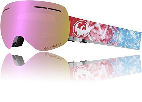 Dragon Damen Schneebrille X1S 3 Galaxy(+Bonus Lens) Goggle